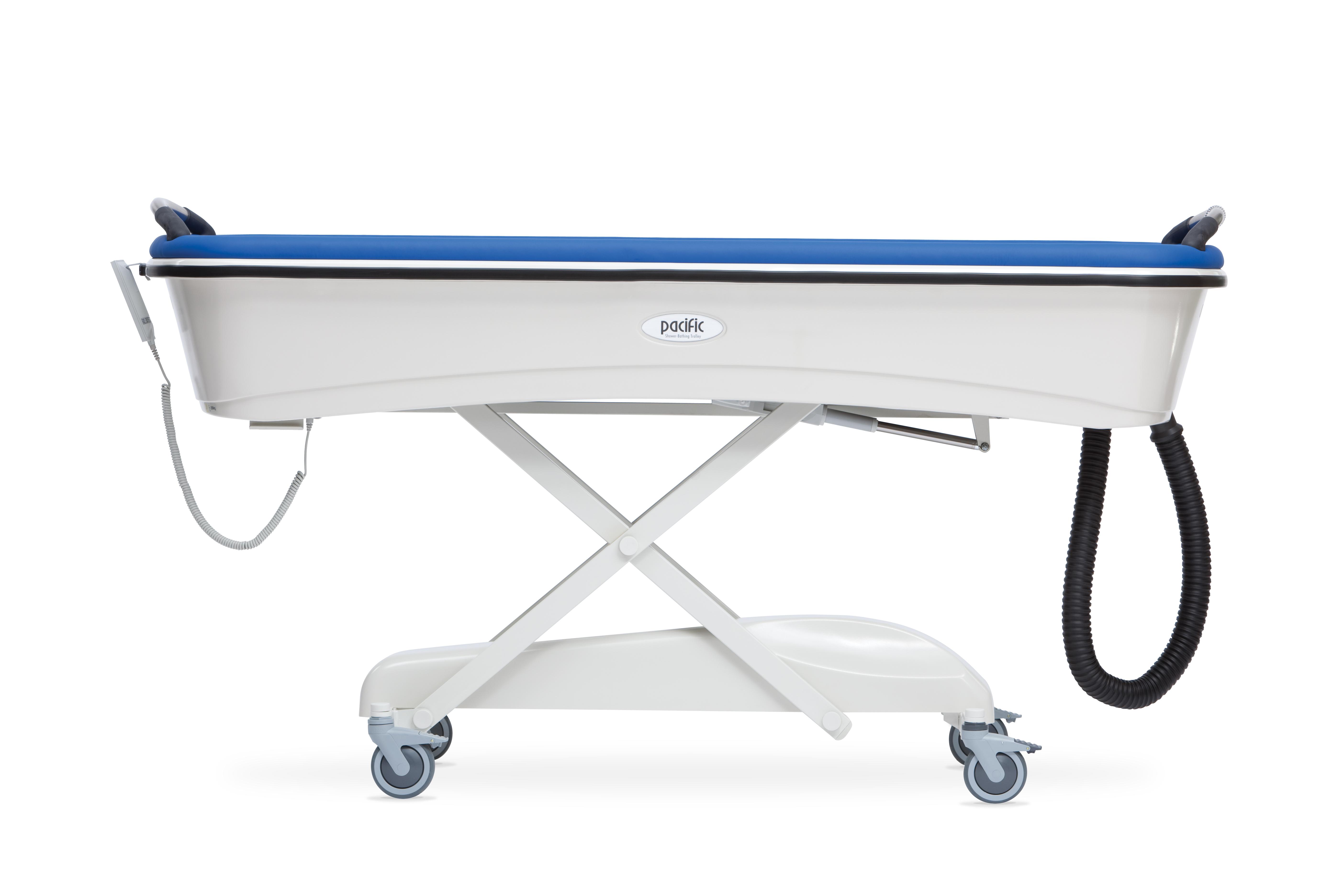 trolleys douchebrancard hydr marina trolley lopital en shower